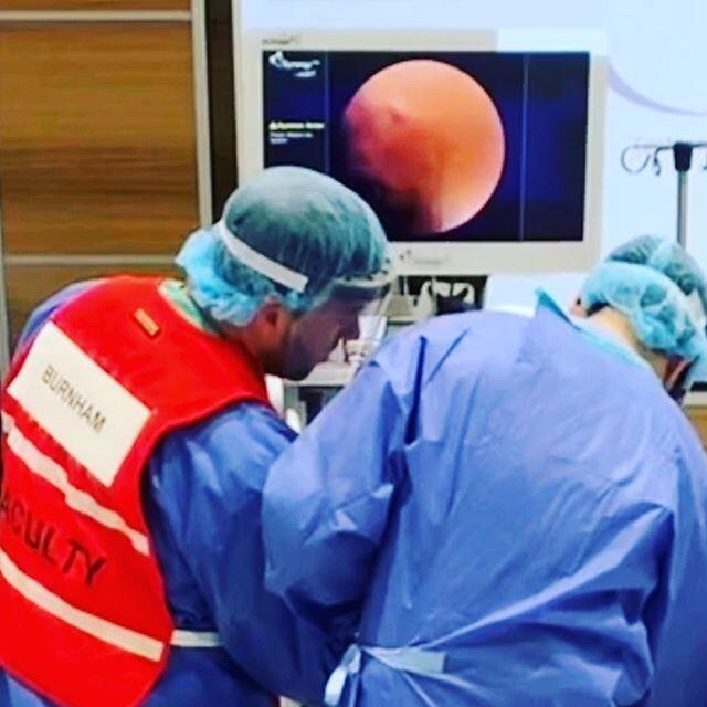 acl surgery aana #instagram #kneedoctor #sportsmedicine