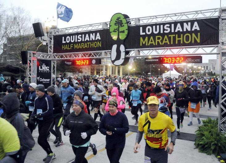sports medicine marathon Louisiana marathon LA marathon endurance sports baton rouge