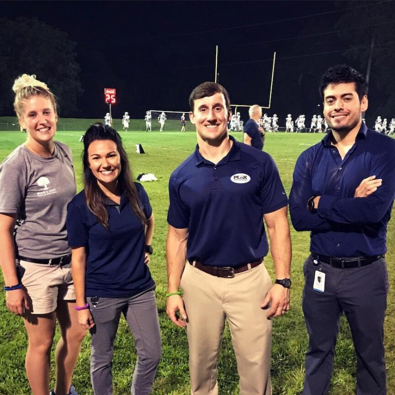 the church academy tca sports medicine knee doctor high school football Friday night lights baton rouge athletic training