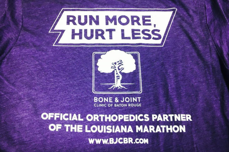 sports medicine running marathon Louisiana marathon LA marathon knee doctor